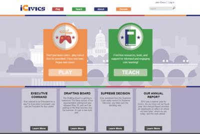 iCivics Website